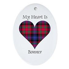 Heart - Bonner Ornament (Oval)