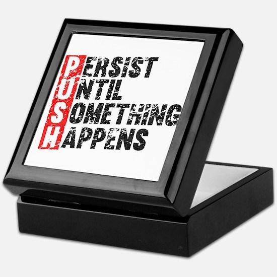 Persist Until Something Happens   Vintage Retro Ke