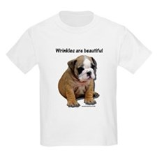 Wrinkles Are Beautiful II Kids T-Shirt