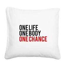 One Life One Body One Chance | Fitness Slogan Squa