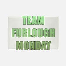 Team Furlough Monday Rectangle Magnet
