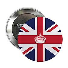"Royal British Flag 2.25"" Button (100 pack)"