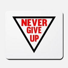 Never Give Up | Fitness and Bodybuilding Slogan Mo