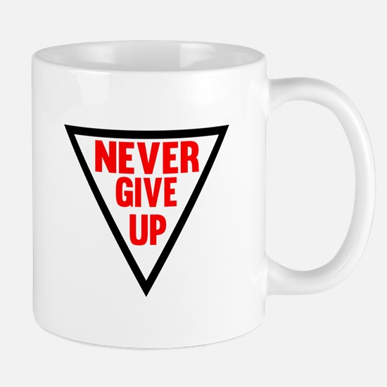 Never Give Up   Fitness and Bodybuilding Slogan Mu