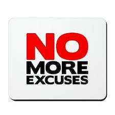 No More Excuses | Fitness & Bodybuilding Slogan Mo