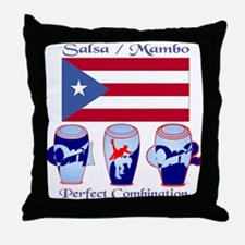 LimEd P.R. large Flag Throw Pillow