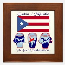 LimEd P.R. large Flag Framed Tile