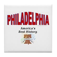ABH Philadelphia Liberty Tile Coaster
