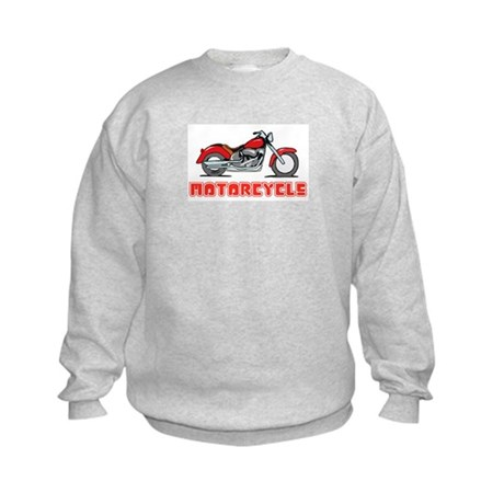 Motorcycle Kids Sweatshirt