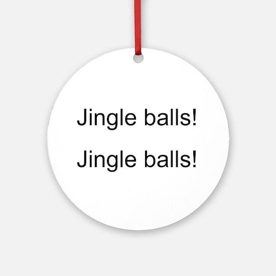 Jingle Balls Ornament (Round)