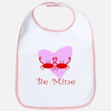 Be Mine Crab Bib
