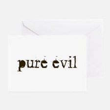 Pure Evil Greeting Cards (Pk of 10)