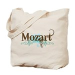 Cool Grunge Mozart Music Tote Bag