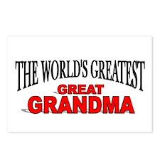 """The World's Greatest Great Grandma"" Postcards (Pa"