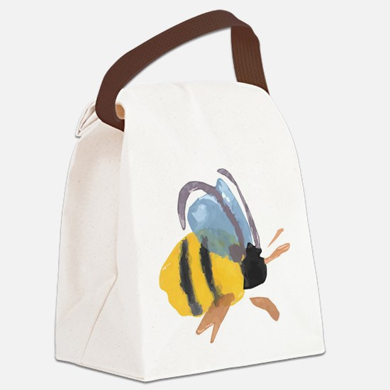bee2.jpg Canvas Lunch Bag