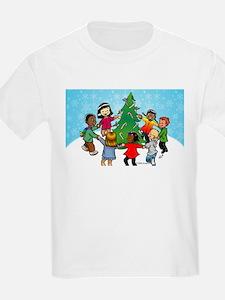 Candy Cane Dance Kids T-Shirt