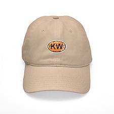 Key West - Oval Design. Baseball Cap