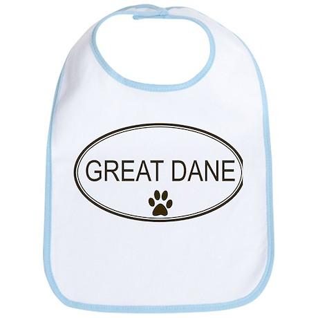 Oval Great Dane Bib