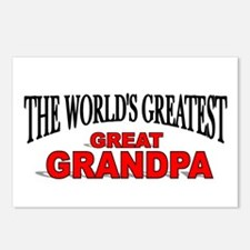 """The World's Greatest Great Grandpa"" Postcards (Pa"