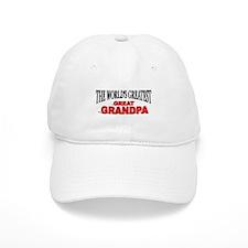 """The World's Greatest Great Grandpa"" Baseball Cap"