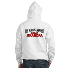"""The World's Greatest Great Grandpa"" Hoodie"
