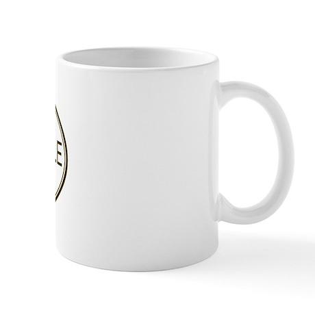 Oval Goldendoodle Mug