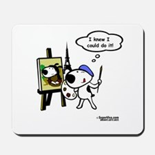 VivaPup - Happy Painter and T Mousepad