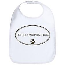 Oval Estrela Mountain Dog Bib