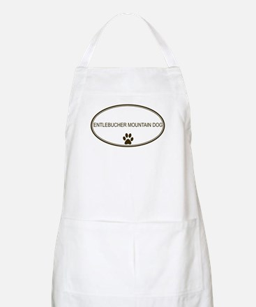 Oval Entlebucher Mountain Dog BBQ Apron
