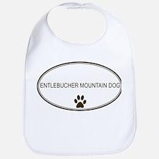 Oval Entlebucher Mountain Dog Bib