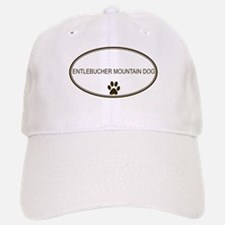 Oval Entlebucher Mountain Dog Baseball Baseball Cap