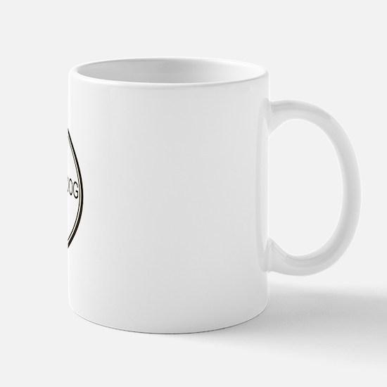 Oval Entlebucher Mountain Dog Mug