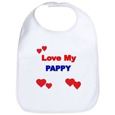 LOVE MY PAPPY Bib