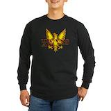 Mens long sleeve Long Sleeve T-shirts (Dark)