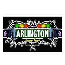 Arlington Staten Island NYC (Black) Postcards (Pac