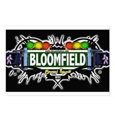 Bloomfield Staten Island NYC (Black) Postcards (Pa