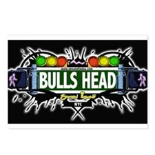 Bulls Head Staten Island NYC (Black) Postcards (Pa