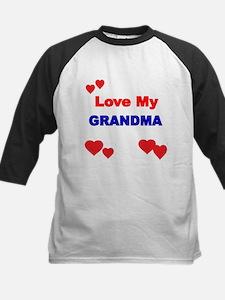 LOVE MY GRANDMA 4 Baseball Jersey