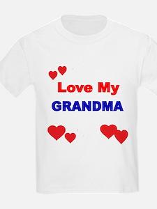 LOVE MY GRANDMA 4 T-Shirt