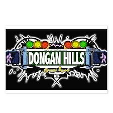 Dongan Hills Staten Island NYC (Black) Postcards (