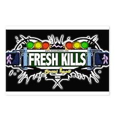 Fresh Kills (Black) Postcards (Package of 8)