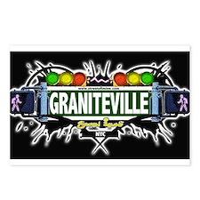 Graniteville Staten Island NYC (Black) Postcards (