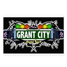 Grant City Staten Island NYC (Black) Postcards (Pa