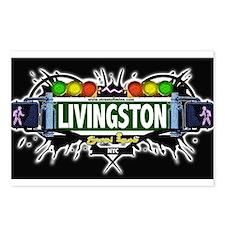 Livingston Staten Island NYC (Black) Postcards (Pa