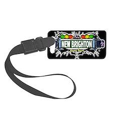 New Brighton Staten Island NYC (Black) Luggage Tag
