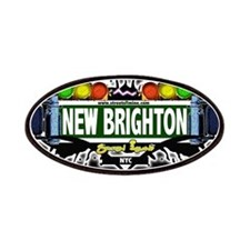 New Brighton Staten Island NYC (Black) Patches
