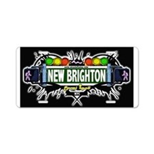 New Brighton Staten Island NYC (Black) Aluminum Li