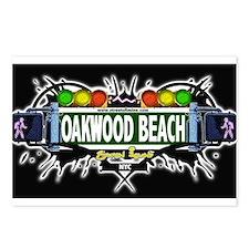 Oakwood Beach Staten Island NYC (Black) Postcards