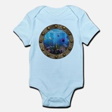 Underwater Love Porthole Infant Bodysuit