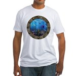 Underwater Love Porthole Fitted T-Shirt